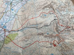 Next weekend's plan, ask me after how close we got 😬 #scafellpike